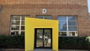 A fresh look for Newcastle TAFE's D block